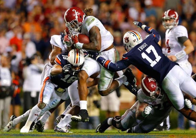 Huge stakes in Iron Bowl when Alabama-Auburn meet