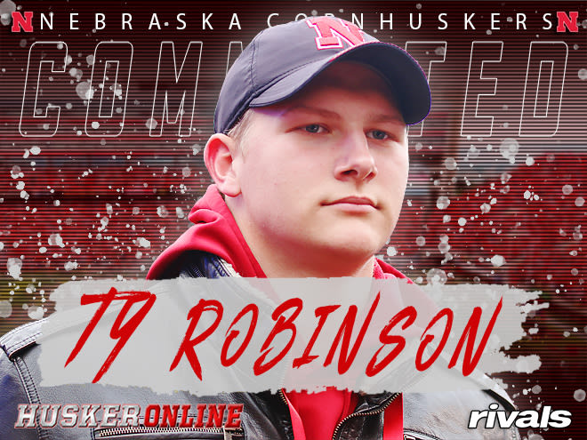 Ty Robinson's signing caps off a big early signing day for the Huskers.