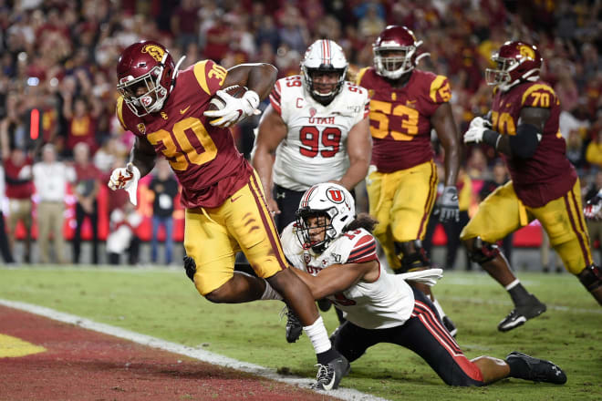 Francis Bernard and the defense had no answers for USC's game plan.