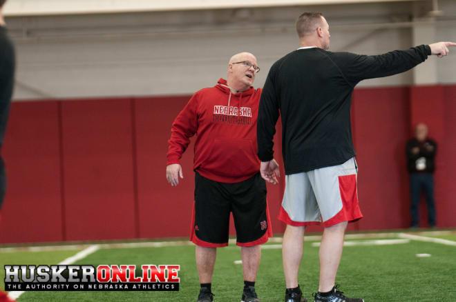 OL Coach Mike Cavanaugh  and DL Coach John Parrella