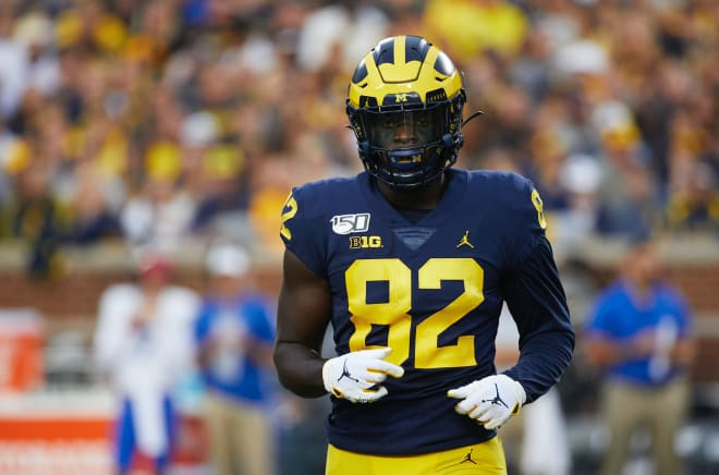 Michigan Wolverines football's Nick Eubanks is on the Mackey watch list.