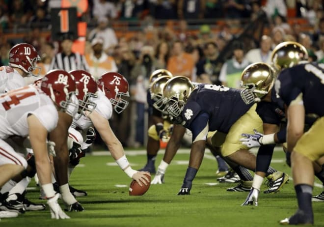 ND, Alabama announce home-and-home series