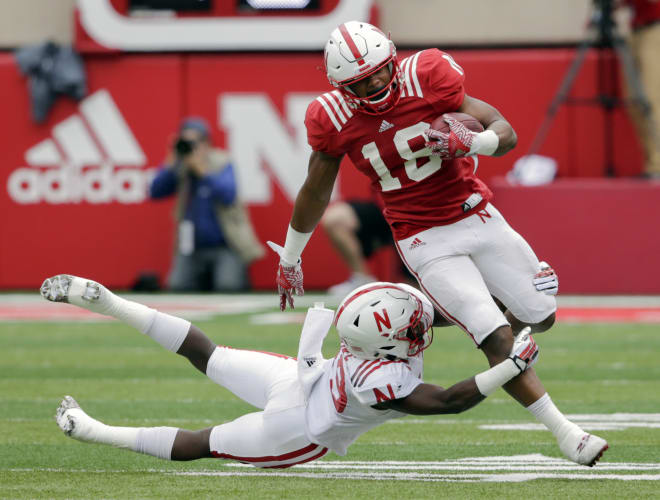 Sophomore Tre Bryant appears to be Nebraska's No. 1 back coming out of the spring.