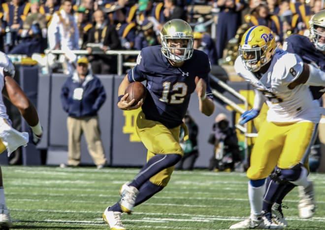 BlueAndGold - 2019 Notre Dame Position Preview: Quarterback