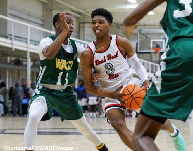 Basketball Recruiting - Top 40 junior Caleb Love's