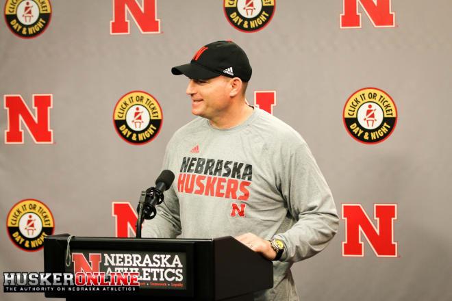 Nebraska defensive line coach John Parrella