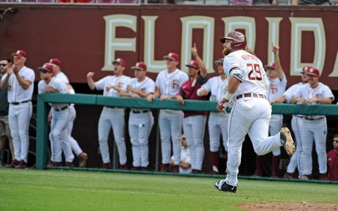 Quincy Nieporte and the Seminoles rallied from a 7-0 deficit Friday.