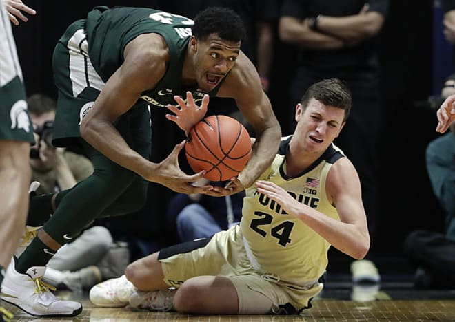 Michigan State victorious over Maryland in Big Ten action