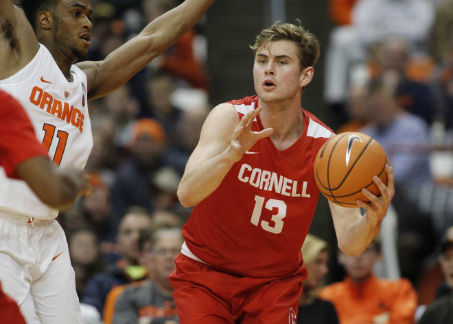 Cornell transfer power forward Stone Gettings decided to pick Arizona as his next home Monday