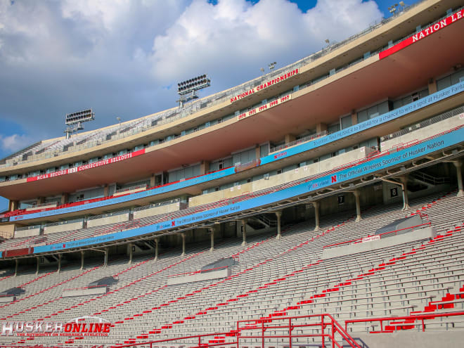 Nebraska still hasn't released any seating plans for Memorial Stadium at this point.
