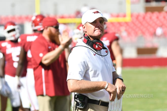 Chad Morris is nearing historic territory.