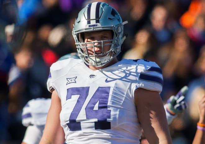 Kansas State will no longer have Scott Frantz at left tackle