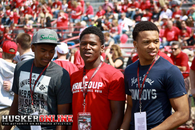 Johnson Jr. said he first felt strongly about Nebraska during his visit for the spring game last year with teammate Darnay Holmes and recent Husker commit Jaevon McQuitty.