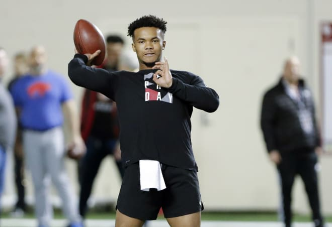 Kyler Murray Visits The New York Giants