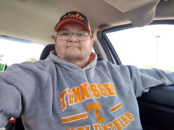 Tennessee superfan Keith Ricker. | Submitted photo