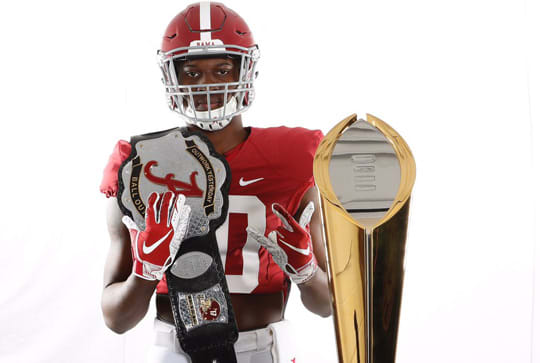 Five-star Alabama commitment Chris Braswell visited Alabama over the weekend