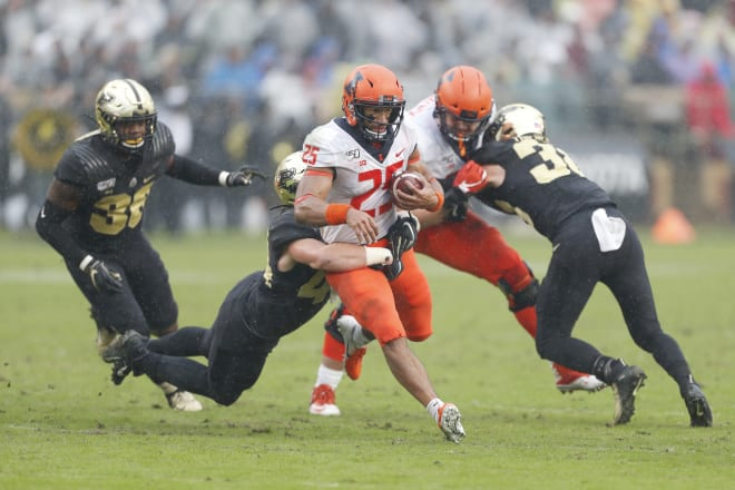 Improving Illini defense creates big challenge for Purdue
