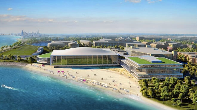 Northwestern is in the midst of completing a $400 million facility upgrade project along Lake Michigan in Chicago.