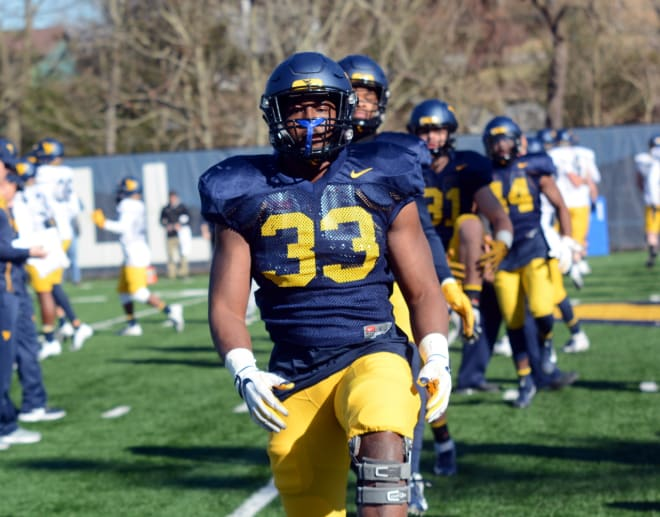 Quondarius Qualls has found a home at bandit linebacker for the West Virginia Mountaineers football team.