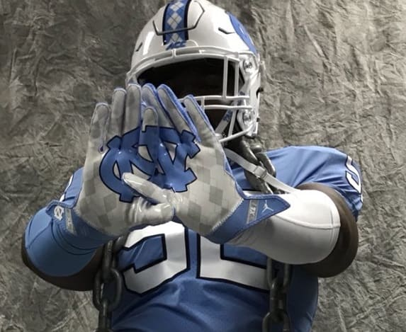 3-Star DT Jahlil Taylor pops for UNC while on his official visit this weekend in Chapel Hill.