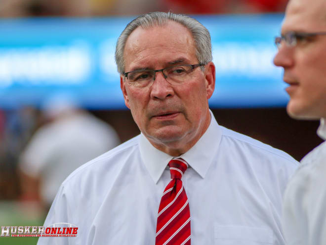 How will Bill Moos and Nebraska navigate through the potential budget changes their going to face in the coming months?