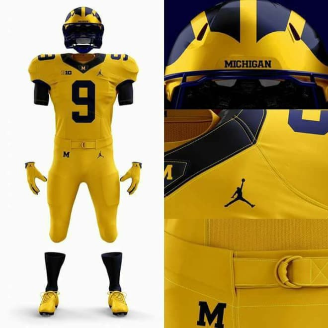 cheap for discount ffafa f07b7 TheWolverine - Michigan Football: What The Alternate Jerseys ...