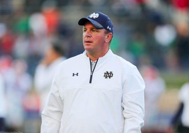 Defensive coordinator leaves Irish for A&M