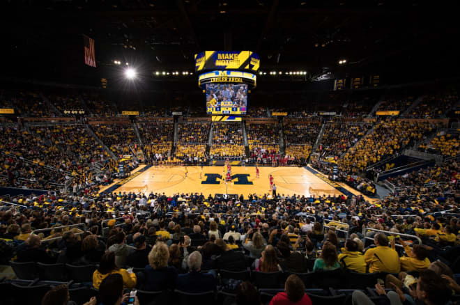 TheWolverine - Michigan Basketball Announces Tip Times, TV