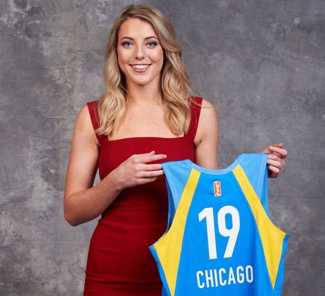 the best attitude 031bc 7c388 StorrsCentral - Katie Lou Samuelson All Smiles on WNBA Draft ...