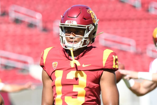 TrojanSports - Clay Helton discusses freshman WR Munir McClain's second torn ACL