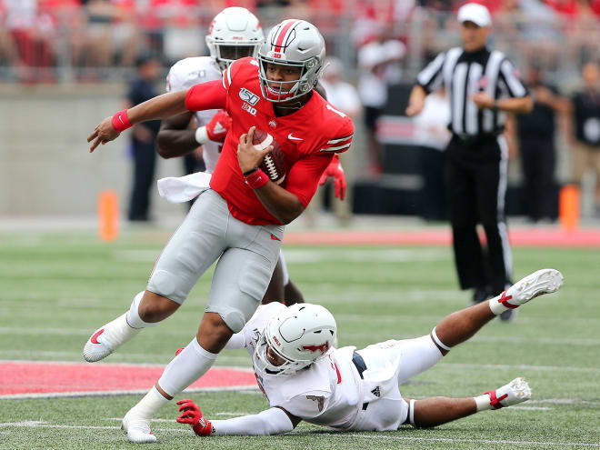 Justin Fields is an early Heisman favorite going into 2020