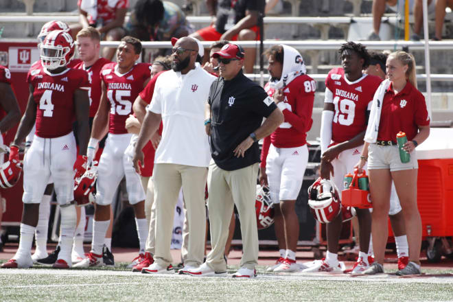 TheHoosier - Quoted: Tom Allen reacts to Indiana's 38-3 victory over UConn.