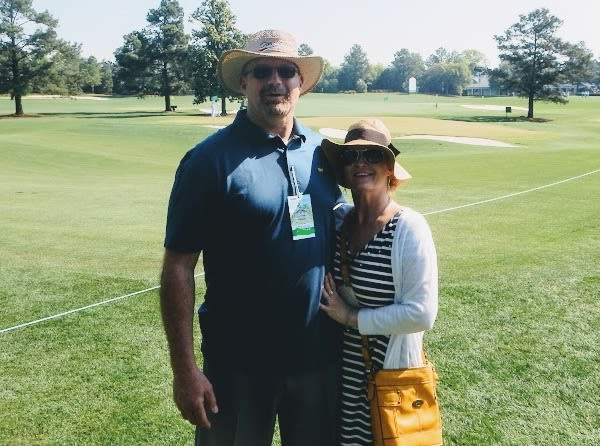 Tony Visco is settled in to Chattanooga, Tenn., with wife Valerie.