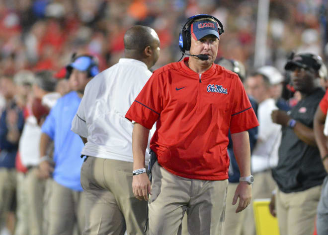 Former Ole Miss coach Hugh Freeze issued a public apology Saturday, his first public comments since resigning his position in July.