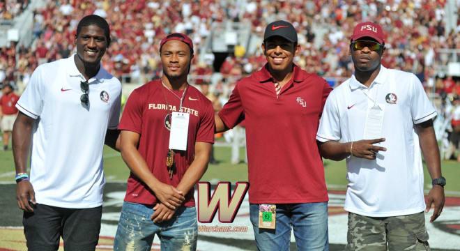 Warchant - Rhodes returns during NFL break, offers advice ...