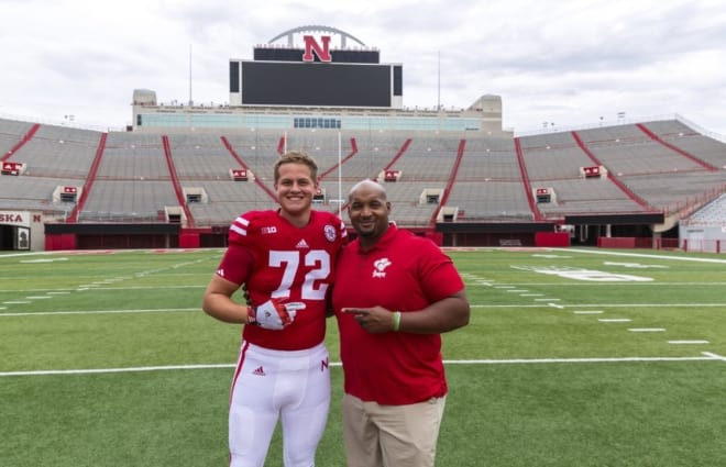 2019 offensive tackle Matthew Anderson out of Leesville, La. publicly committed to Nebraska on Friday.