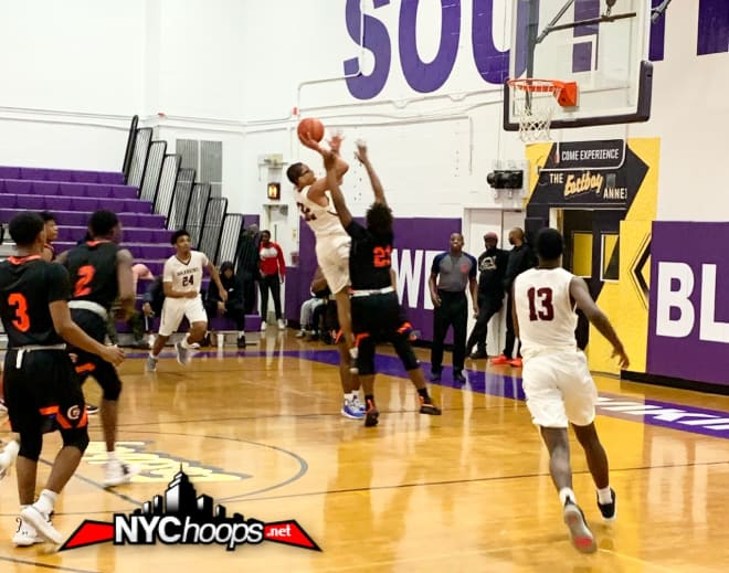 Darnell Askew scoring two of his 50 points
