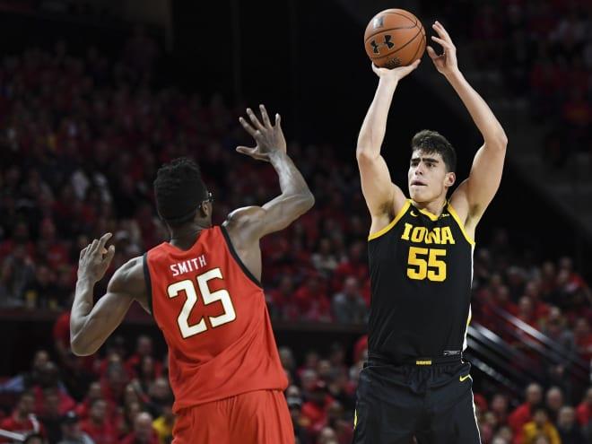 No. 17 Iowa Visits Purdue Wednesday Night