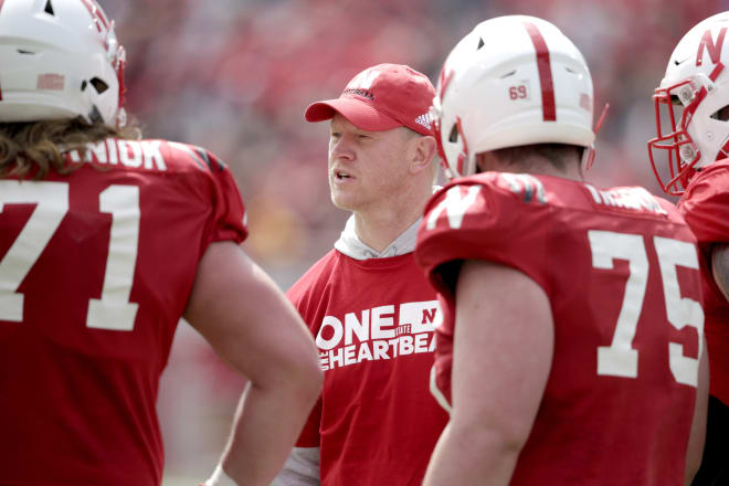 Nebraska left Saturday's Red-White spring game with no major injuries.