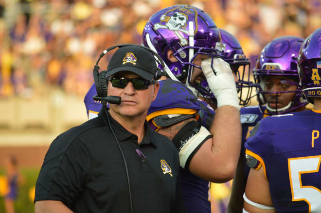 ECU head coach Mike Houston recaps Saturday's win over Gardner-Webb and previews the upcoming Navy game.