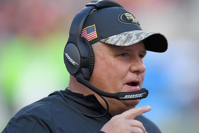 Is Chip Kelly's 49ers contract holding up a deal with Florida?