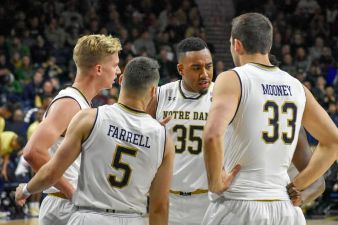 Notre Dame Advances To Quarter Finals of ACC Tournament
