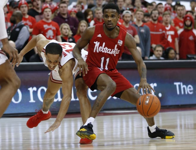 Wisconsin pulls away from Nebraska for 82-68 win