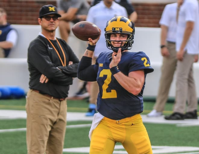 Shea Patterson to return to Michigan Wolverines