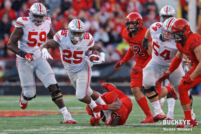 Mike Weber is coming off of a 1,000-yard season