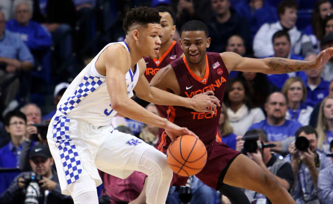Virginia Tech Falls to No. 8 Kentucky 93-86