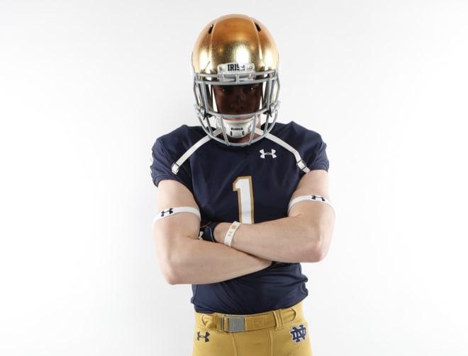 BlueAndGold - Class Impact: WR Jay Brunelle To Notre Dame