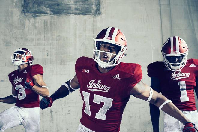 8da10afd IU Football Unveils New Uniforms As Tribute To Former Coach Terry Hoeppner