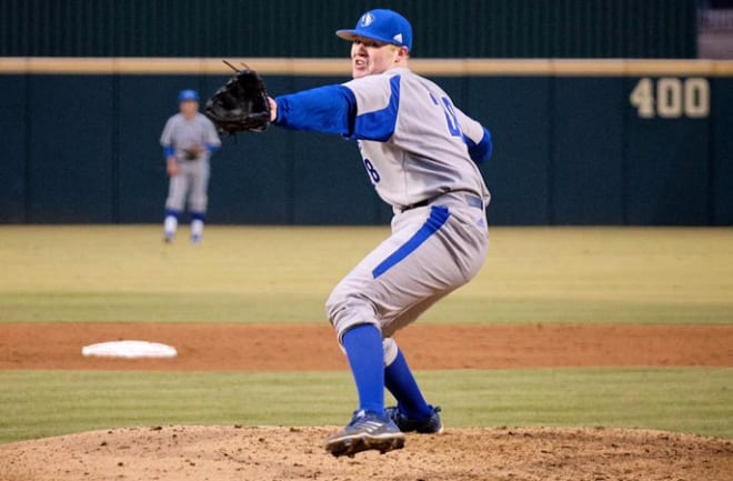 Eastern Illinois pitcher Will Klein is considered the top MLB Draft prospect in the OVC.