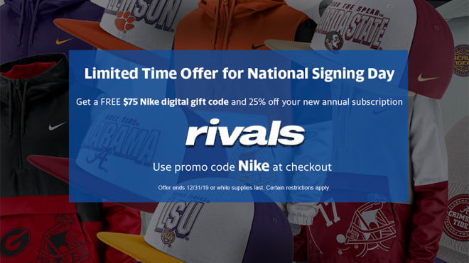 TrojanSports - Countdown to Signing Day Promo: Discounted subscription and FREE Nike gear